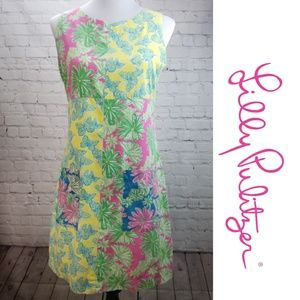 🌻LILLY PULITZER🌻 Butterfly Flower Shift Dress